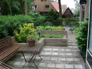 tuin van het zomerverblijf